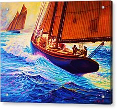 Men Of Gloucester Acrylic Print