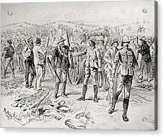 Men Of The Royal Irish Rifles And Acrylic Print