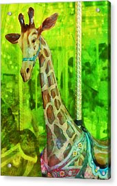 Menagerie Acrylic Print by JAMART Photography