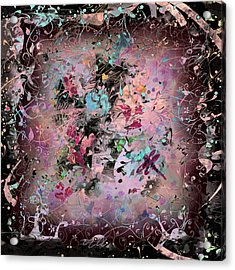 Menagerie Acrylic Print by Rachel Christine Nowicki