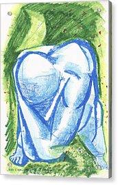 Mencumbu Sunyi Acrylic Print by Danarta Gondrong