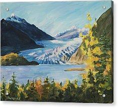 Mendenhall Glacier Juneau Alaska Acrylic Print