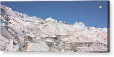 Acrylic Print featuring the photograph Mendenhall Glacier Panoramic by Kristin Elmquist