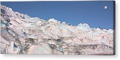 Mendenhall Glacier Panoramic Acrylic Print by Kristin Elmquist