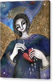 Mender Of Hearts Angel Acrylic Print