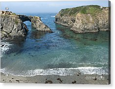 Mendicino County Viewpoint Acrylic Print by Sandra Bronstein