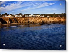 Mendocino Coastal Town Acrylic Print by Garry Gay