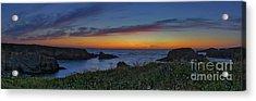 Mendocino Headlands Sunset Acrylic Print