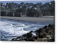 Mendocino  Acrylic Print by Stan and Anne Foster