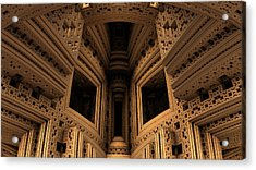 Menger Cathedral Acrylic Print