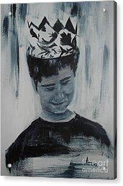 Menino Acrylic Print by Ana Picolini