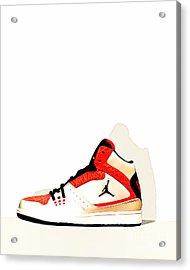 Mens Air Jordan High Tops 20160227 Acrylic Print by Wingsdomain Art and Photography
