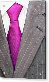 Men's Suit Acrylic Print by Boyan Dimitrov
