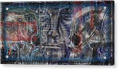 Mensrea Acrylic Print by Leigh Odom
