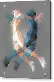Mental Equilibrium Acrylic Print by Joaquin Abella