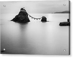 Meoto Iwa Acrylic Print