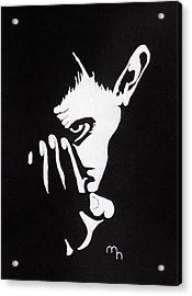 Mephisto Acrylic Print by Marie Halter