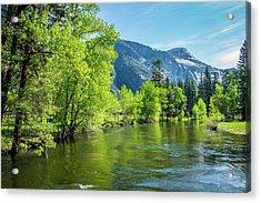 Merced River In Yosemite Valley Acrylic Print
