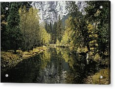 Merced River Reflection Acrylic Print