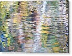 Merced River Reflections 10 Acrylic Print