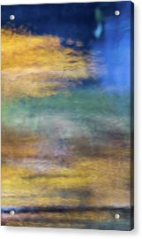 Merced River Reflections 12 Acrylic Print by Larry Marshall