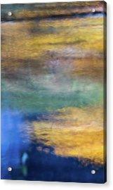 Merced River Reflections 13 Acrylic Print