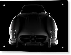 Mercedes 300 Sl Roadster - Front View Acrylic Print