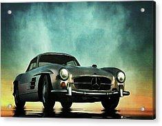 Mercedes 300sl Acrylic Print