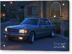 Mercedes 560sec Acrylic Print