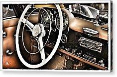 Mercedes Benz 190 Sl Acrylic Print