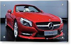 Mercedes Benz Sl Acrylic Print