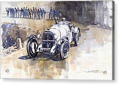 Mercedes Benz Ssk 1930 Rudolf Caracciola Acrylic Print