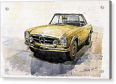 Mercedes Benz W113 Pagoda Acrylic Print