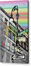 Mercer St Acrylic Print