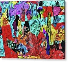 Mercurian Cave Acrylic Print