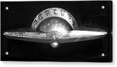 Mercury Emblem Acrylic Print by Audrey Venute
