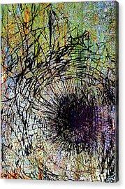 Acrylic Print featuring the mixed media Mercy by Tony Rubino