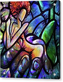 Acrylic Print featuring the digital art Mercy's Hand by AC Williams