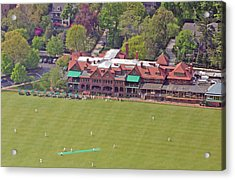 Merion Cricket Club Cricket Festival Clubhouse Acrylic Print by Duncan Pearson