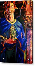Merlin Acrylic Print by David Matthews