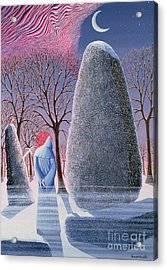 Merlin Acrylic Print by Peter Szumowksi