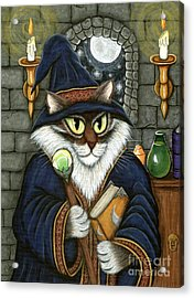 Merlin The Magician Cat Acrylic Print