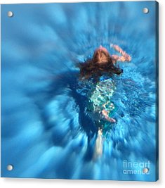 Mermaid Caroline Acrylic Print