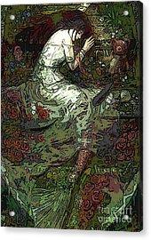 Mermaid Fantasy Art Acrylic Print