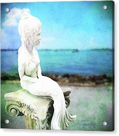 Mermaid Lisa Acrylic Print