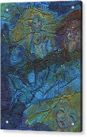 Mermaid Musings Acrylic Print by Cathy Minerva