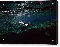 Mermaid Route Acrylic Print