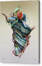 Mermaid Sculpture Acrylic Print