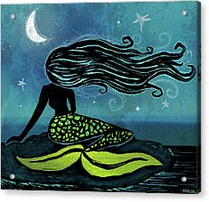 Mermaid Song Acrylic Print