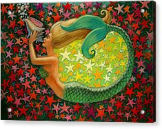 Mermaid's Circle Acrylic Print